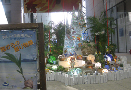 シーボーンアート展「美しい海を未来に」