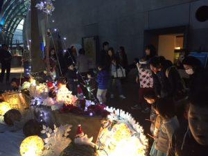 シーボーンアート展@アクアマリンのクリスマス